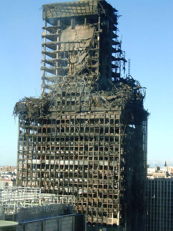 High Rise Fire-fighting : Construction Materials