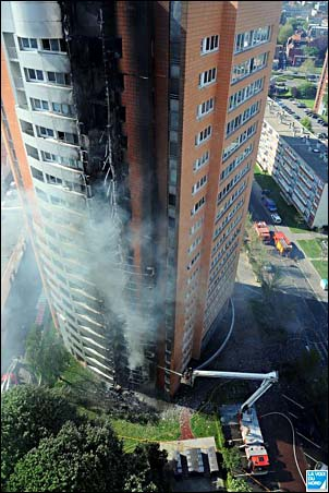High Rise Fire Fighting External Fire Spread